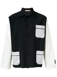 Emiliano Rinaldi Patch Pockets Shirt Black