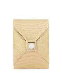 Itty Bitty Metallic Prunella Crossbody Bag Golden Gold Kara Ross