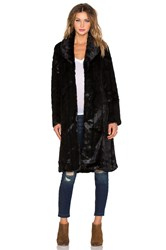 Unreal Fur My Faux Fur Lady Coat Black