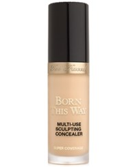 Too Faced Born This Way Super Coverage Multi Use Sculpting Concealer Natural Beige Light Medium With Neutral Underton