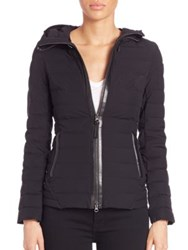 Mackage Kim Lightweight Short Puffer Jacket Black
