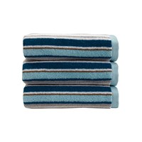 Christy Portobello Stripe Towel Surf Hand Towel