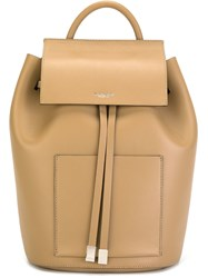 Michael Kors 'Miranda Large French' Backpack Nude And Neutrals