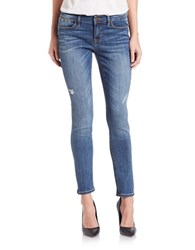 Dittos Distressed Skinny Jeans Dark Destroy