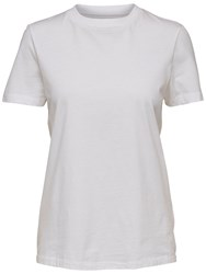 Selected Femme My Perfect T Shirt Bright White