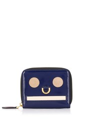 Marni Decorative Coin Purse Blue