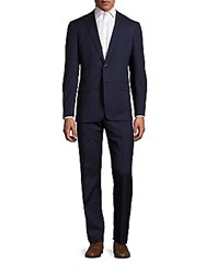 John Varvatos Slim Fit Jake Wool Suit Ink Blue