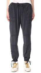 Pam And Gela Lace Up Pants Graphite