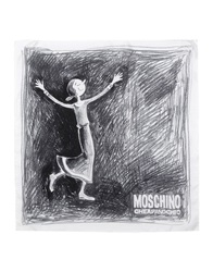 Moschino Cheap And Chic Moschino Cheapandchic Square Scarves Black
