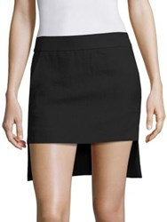 Haider Ackermann Hi Lo Skirt Black