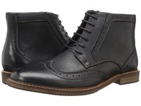 Steve Madden Daegan Black Men's Lace Up Boots