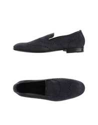 Bruno Bordese Moccasins Dark Blue