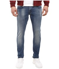G Star Revend Super Slim In Slander Blue Superstretch Light Aged Slander Blue Super Stretch Light Aged Men's Jeans