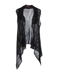 Manila Grace Denim Knitwear Cardigans Women Black