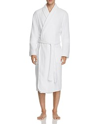 Naked Terry Cloth Robe White