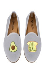 Del Toro M'o Exclusive Avocado And Toast Slipper Blue
