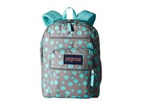 Jansport Big Student Grey Rabbit Sylvia Dot Backpack Bags Blue