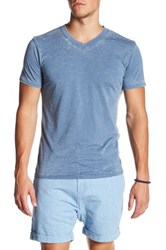 Mr. Swim Burnout V Neck Tee Blue
