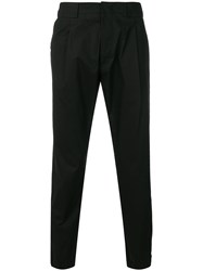 Pt01 Straight Trousers Black