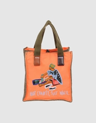Carmina Campus Small Fabric Bags Orange