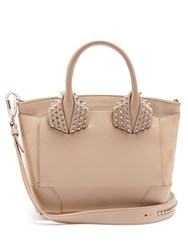 Christian Louboutin Eloise Small Leather Bag Light Grey