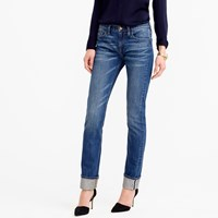 J.Crew Petite Matchstick Jean In Japanese Selvedge Fayette Wash
