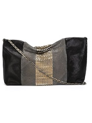 Laura B 'Urban Casual' Clutch Black