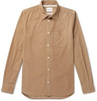 Norse Projects Osvald Cotton Corduroy Shirt Sand