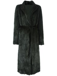 Simonetta Ravizza 'Vienna' Coat Green