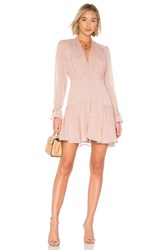 The Jetset Diaries Lily Rose Mini Dress Pink