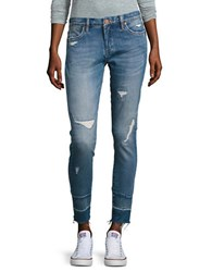 Blank Nyc Distressed Ankle Jeans