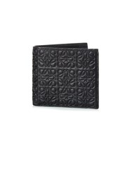 Loewe Logo Debossed Leather Bi Fold Wallet