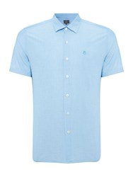 Peter Werth Drayton Turner End On End Cotton Shirt Pool