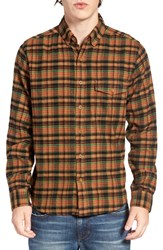 Woolrich Men's Plaid Flannel Shirt Chickory
