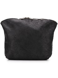 Guidi Full Grain Beautycase Pouch Black