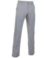 Under Armour Men's Match Play Straight Leg Golf Pants Steel