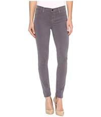 J Brand 485 Mid Rise Super Skinny In Storm Grey Storm Grey Women's Jeans Gray