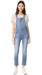 Madewell Skinny Overalls Ricky Wash