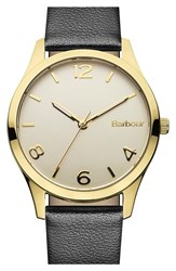 Women's Barbour 'Heritage' Leather Strap Watch 32Mm