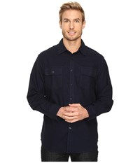 Mountain Khakis Ranger Chamois Shirt Navy Men's Clothing