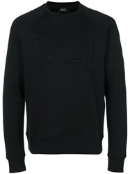 N 21 No21 Logo Sweatshirt Black