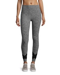Beyond Yoga X Big Thing Performance Legging Gray Black White