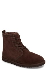 Uggr 'S Ugg Harkley Lace Up Boot Espresso Leather