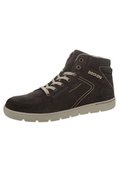 Dockers By Gerli Laceup Boots Chocolate Dark Brown
