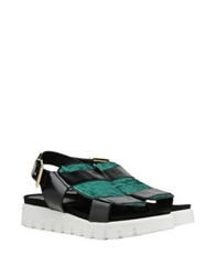 George J. Love Sandals Black