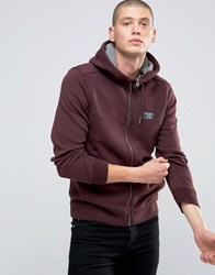 Abercrombie And Fitch Zip Through Hoodie Borg Fully Lined Bonded In Fudge Fudge Brown