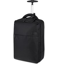 Lipault Plume Business Two Wheel Laptop Backpack 47Cm Black
