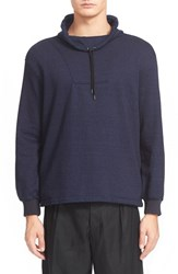Men's J.W.Anderson Cowl Neck French Terry Sweatshirt