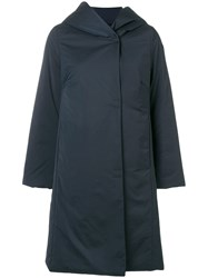 Rrd Hooded Parka Coat Blue