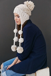 Christys' Hats Christys' Hats Pom Trapper Hat Neutral
